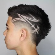 cool haircut design men