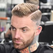 comb over fade haircut 2017 men's