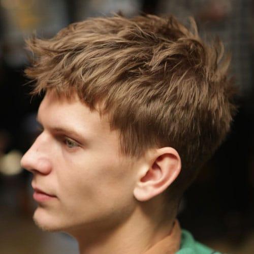 Top 25 Low Maintenance Haircuts For Men 2019 Guide