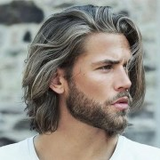 long hairstyles men