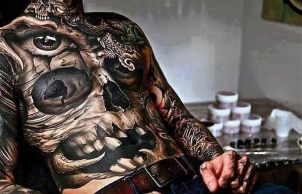 badass tattoos men cool