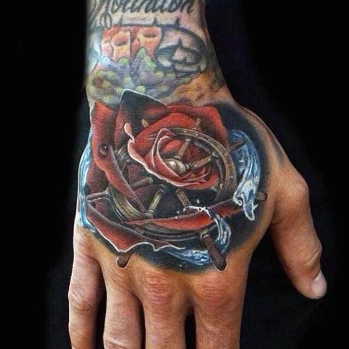 Best Men Hand Tattoos