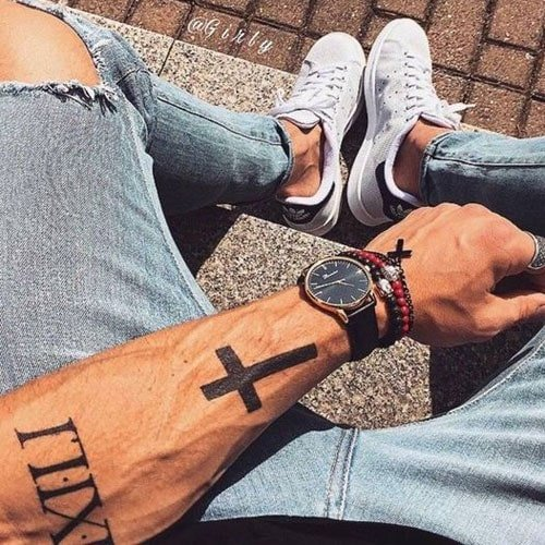 Wrist Classy Simple Tattoos For Men