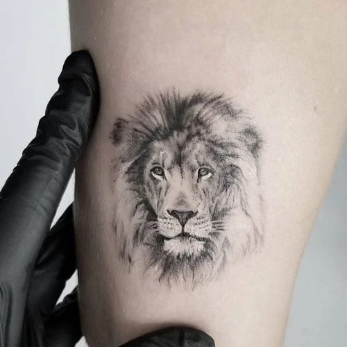 Leg Simple Small Tattoos For Men