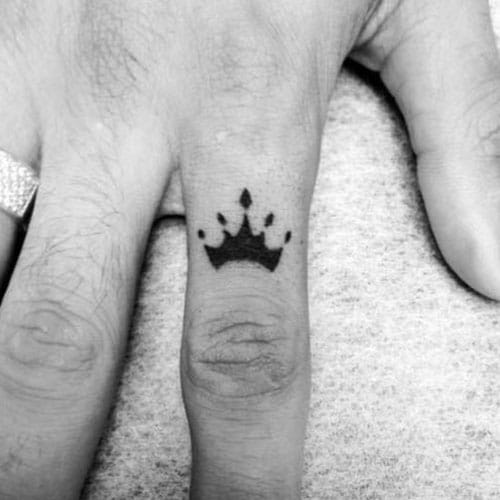 Finger Meaningful Small Tattoos For Men