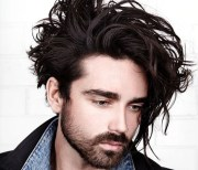 messy hairstyles men 2019