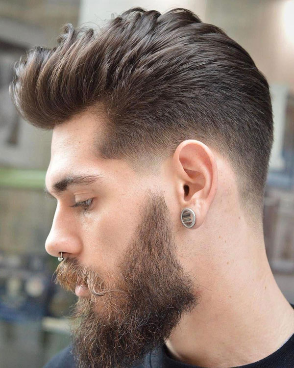 50 Best Blowout Haircuts For Men Cool Blowout Taper Fade Styles