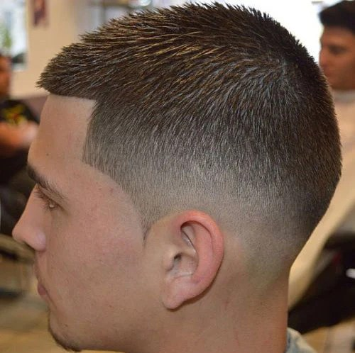 Ryan Hardgrind Zero Fade Mens Haircut Disconnected On Top