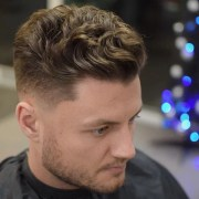 cool wavy hairstyles men