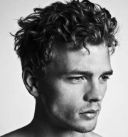 curly hairstyles men men's