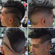cool haircut design men's