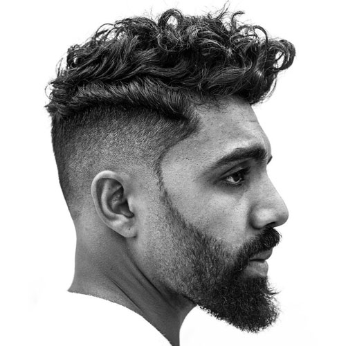 25 Pompadour Hairstyles and Haircuts  Mens Hairstyles
