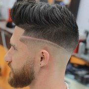 blowout haircut men