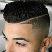 line haircut men's hairstyles
