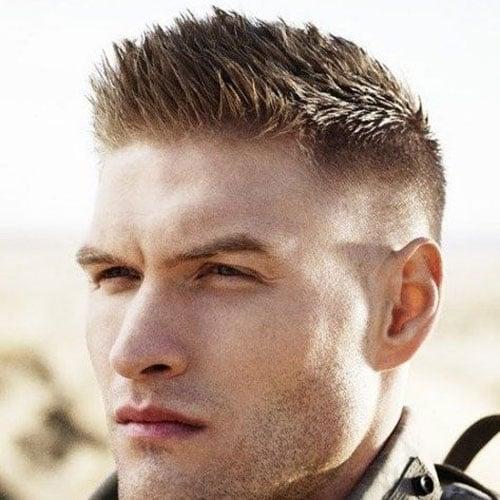 Military Haircut Short Bristled