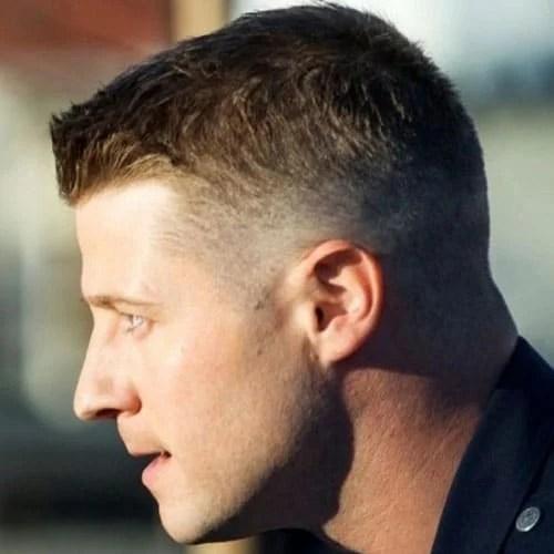 The Men's Crew Cut Haircut Men's Hairstyles Haircuts 2017