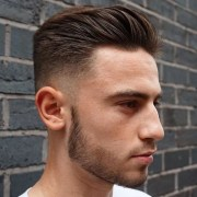 hairstyles men with thick hair