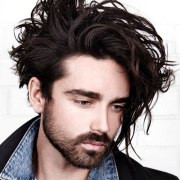 long hairstyles men men's