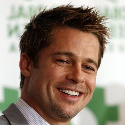 Brad Pitt Hairstyles  Mens Hairstyles  Haircuts 2019