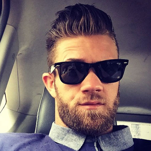 Bryce Harper Hairstyles Mens Hairstyles Haircuts 2019
