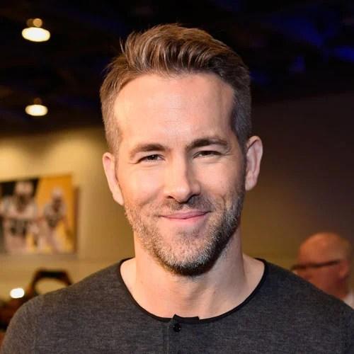 Ryan Reynolds Haircut Mens Hairstyles Haircuts 2017