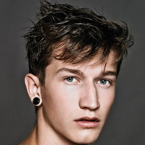 Men S Hairstyles Haircuts For Oval Face Shapes