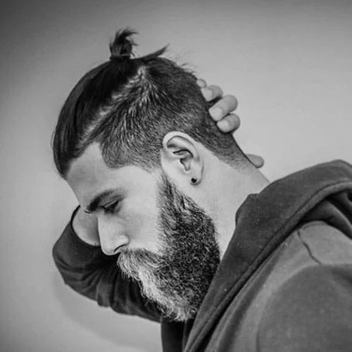 Image Result For Mens Hairstyles Shaved Back And Sides Long On Top