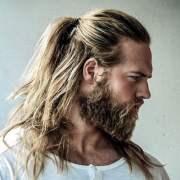 man ponytail - styles