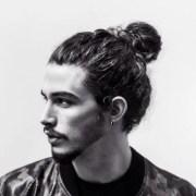 man bun hairstyles men's