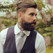 manly haircuts and beards men's