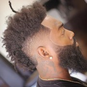 black men's mohawk hairstyles