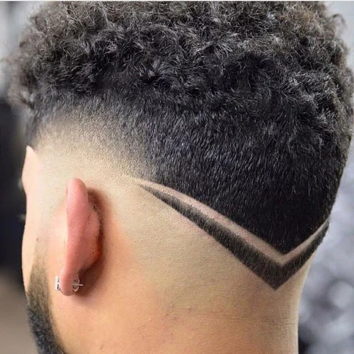 the v shaped haircut