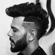 burst fade mohawk haircut