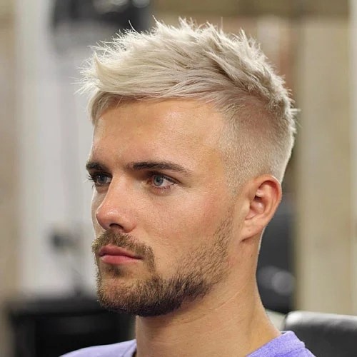 Mens Haircuts Short On Sides Longer Top Men Hairstyle Long Female Slick