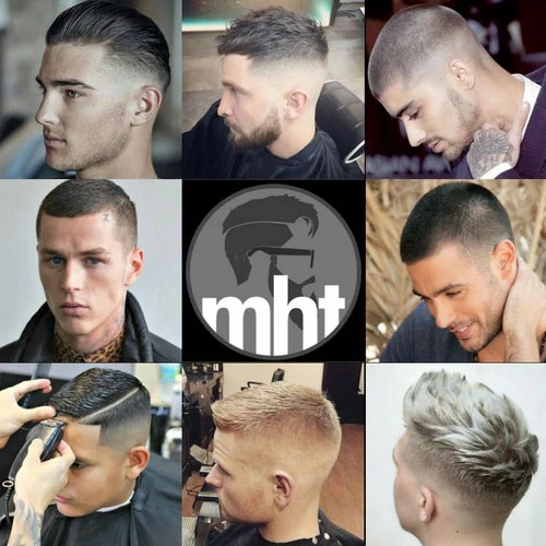 High Bald Fade With French Crop