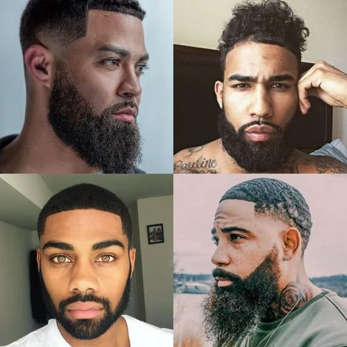 23 black men beards