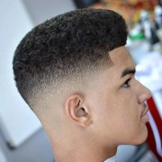shadow fade haircut men's