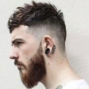 men fringe hairstyles