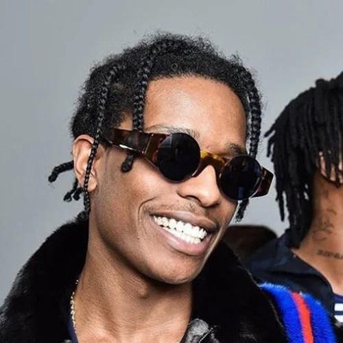 ASAP Rocky Braids  Mens Hairstyles  Haircuts 2019