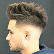 razor fade haircut men's