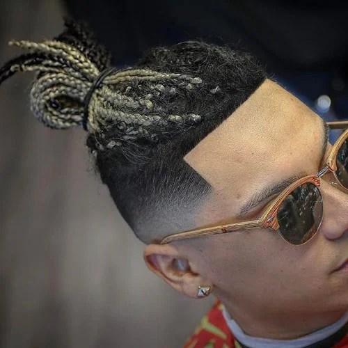 The Temp Fade Haircut  Top 21 Temple Fade Styles 2019  Mens Hairstyles  Haircuts 2019