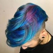 merman hair - guys with colored