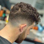 curly hair fade men's hairstyles