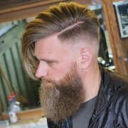 cool short hairstyles and beards