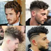 men's haircuts curly hair