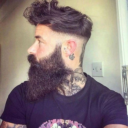 Cool Short Hairstyles And Beards For Men 2017 Mens