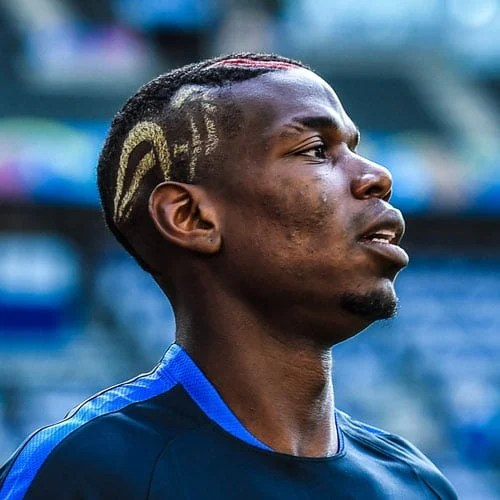 Paul Pogba Haircut  Mens Hairstyles  Haircuts 2019