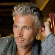 men's hairstyles silver
