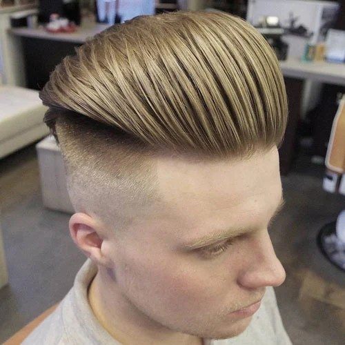 Dokulu Slicked Back Undercut Fade