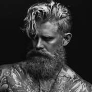 undercut with beard men's hairstyles